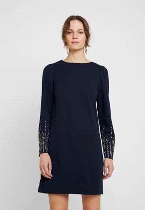 HEATFIX SHIFT DRESS - Vestito di maglina - navy