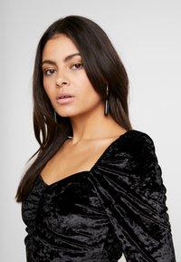 Dorothy Perkins - CRUSHED DRESS - Robe d'été - black - 5