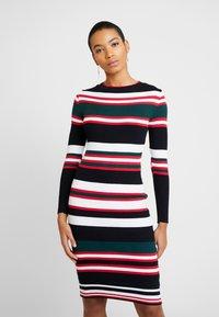 Dorothy Perkins - STRIPE DRESS - Jumper dress - navy - 0