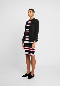 Dorothy Perkins - STRIPE DRESS - Jumper dress - navy - 1