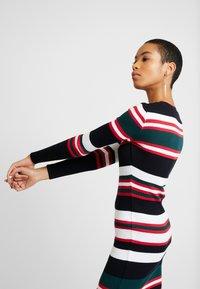Dorothy Perkins - STRIPE DRESS - Jumper dress - navy - 3