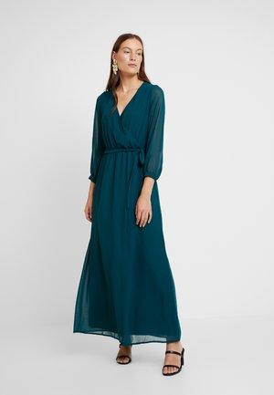 WRAP MAXI DRESS - Maxi dress - teal