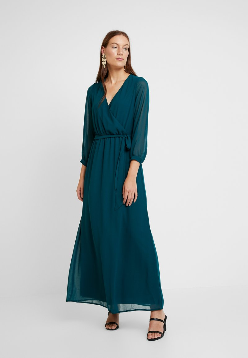 Dorothy Perkins - WRAP MAXI DRESS - Maxi šaty - teal