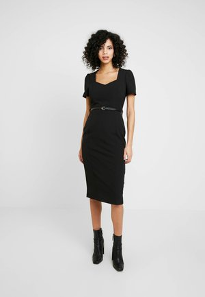 SWEETHEART DRESS - Shift dress - black