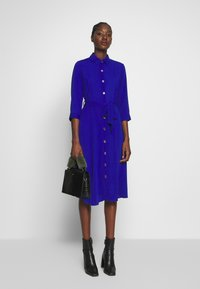 Dorothy Perkins - PLAIN SLEEVE DRESS - Shirt dress - cobalt - 1