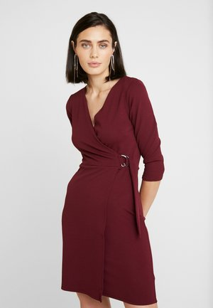 WRAP DRESS - Robe fourreau - purple