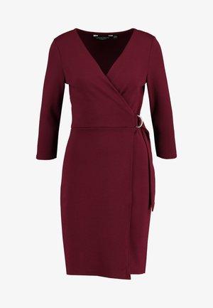 WRAP DRESS - Sukienka etui - purple