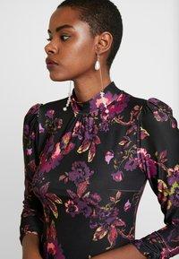Dorothy Perkins - HIGH NECK MIDI DRESS - Sukienka z dżerseju - purple - 5