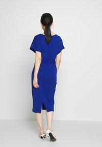 Dorothy Perkins - D RING MIDI DRESS - Jerseyklänning - cobalt - 2