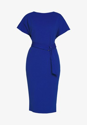 D RING MIDI DRESS - Jerseyjurk - cobalt