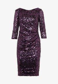 Dorothy Perkins - BODYCON - Sukienka koktajlowa - purple - 4