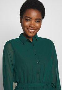 Dorothy Perkins - TIERED SHIRT DRESS - Kjole - green - 3