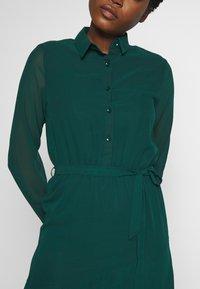 Dorothy Perkins - TIERED SHIRT DRESS - Kjole - green - 5