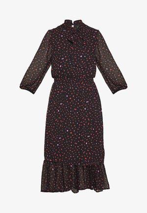 PLAIN PUSSYBOW FRILL DRESS - Kjole - pink