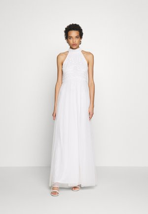 BRIDAL HARRI EMBELLISHED HALTER MAXI DRESS - Iltapuku - ivory