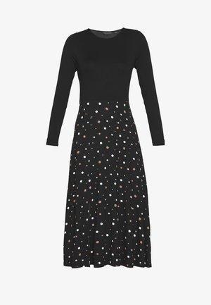 SPOT DRESS - Etuikjole - black