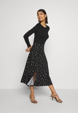 SPOT DRESS - Robe fourreau - black