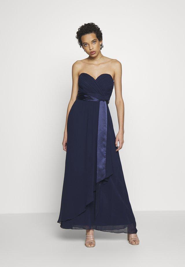 BENNI BANDEAU MAXI DRESS - Occasion wear - navy