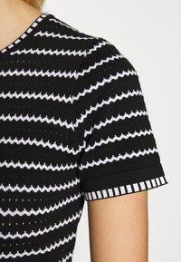 Dorothy Perkins - STRIPE DRESS - Jumper dress - black - 4