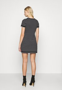 Dorothy Perkins - STRIPE DRESS - Jumper dress - black - 2