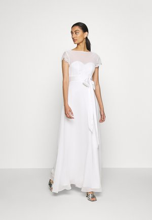 BRIDAL CAMILLA COWL BACK MAXI DRESS - Iltapuku - ivory