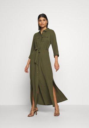 PLAIN DRESS - Maxi dress - khaki