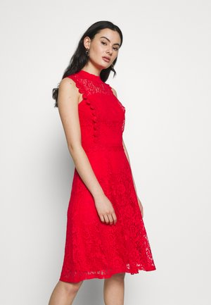 SLEEVELESS TALULAH REPEAT - Vestito elegante - coral