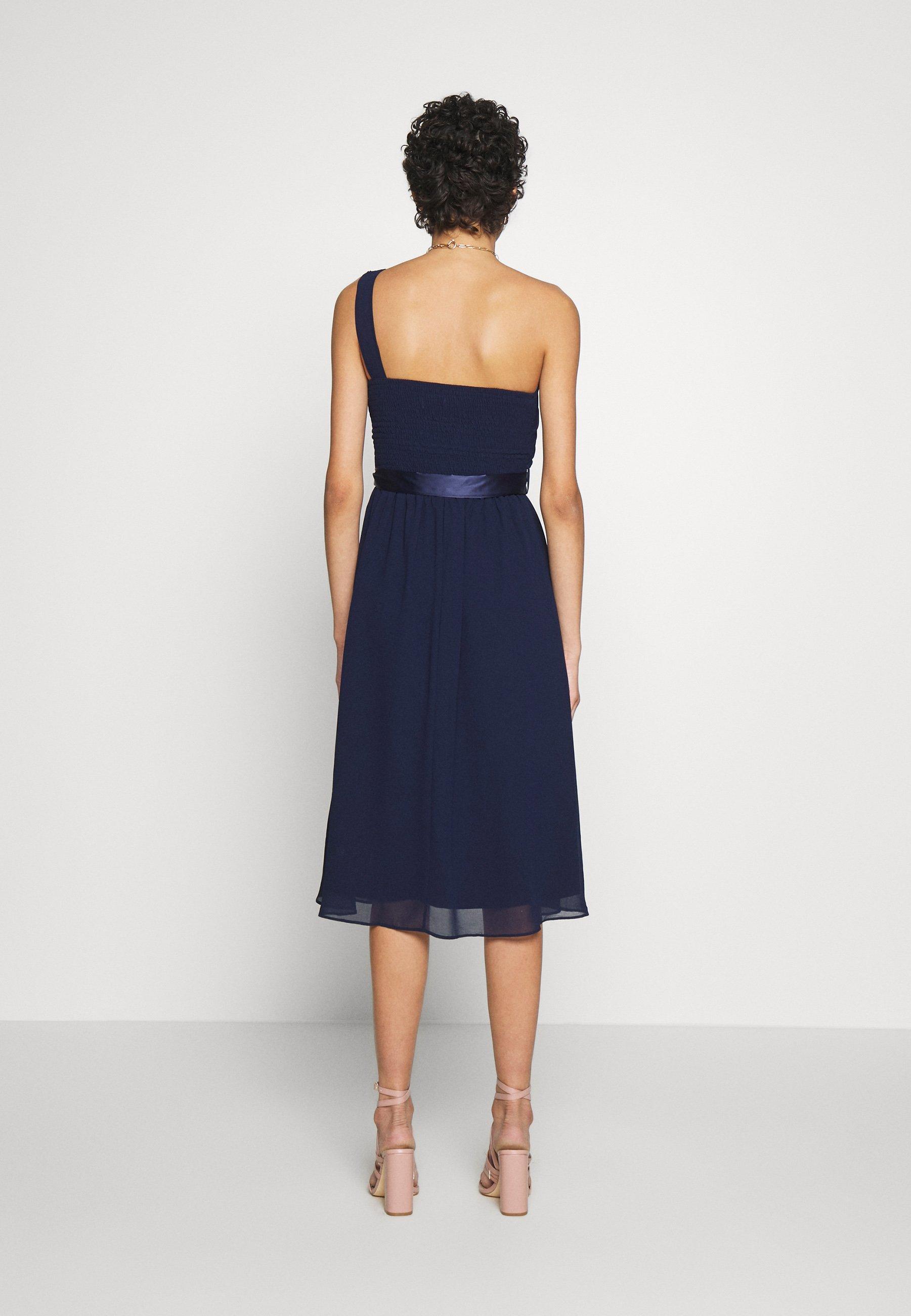 Dorothy Perkins Jenni Shoulder Midi Dress - Cocktailkjoler / Festkjoler Navy