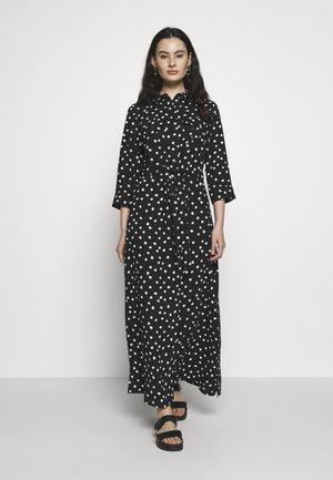 SPOT DRESS - Vestito lungo - black