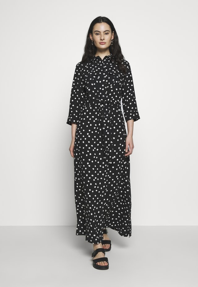 SPOT DRESS - Maxi-jurk - black