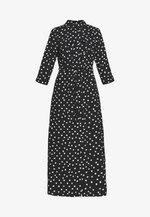 SPOT DRESS - Maxikjole - black