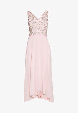 VALERIE BODICE MIDI DRESS - Společenské šaty - blush