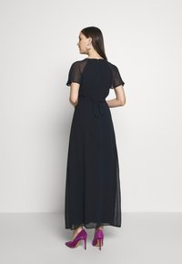 Dorothy Perkins - BLUSH PLEAT FRONT KEYHOLE MAXI DRESS - Vestido de fiesta - dark blue - 2
