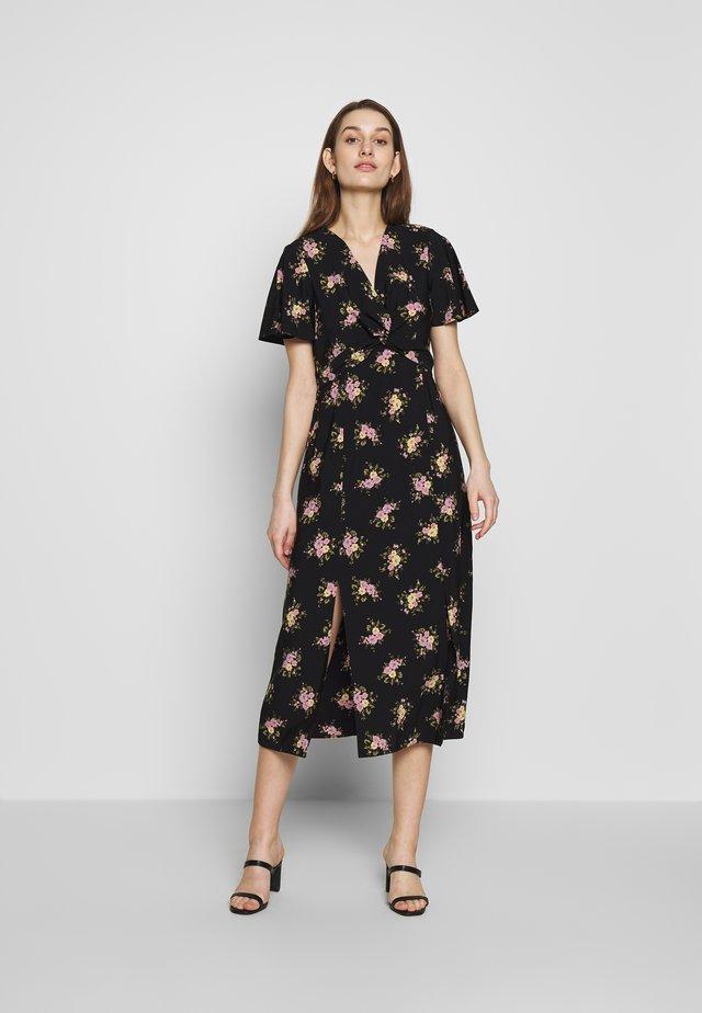 TEA DRESS - Korte jurk - black