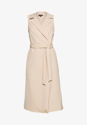 TUX BELTED PENCIL DRESS - Vestito estivo - camel