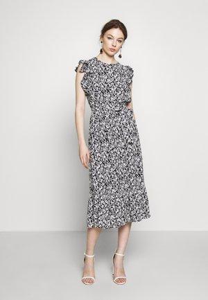 DITSY RUFFLE SLEEVE DRESS - Vestido informal - black