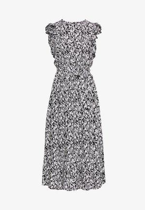 DITSY RUFFLE SLEEVE DRESS - Denní šaty - black