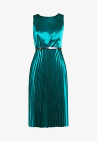 Dorothy Perkins - LUXE BELTED PLEAT MIDI DRESS - Cocktail dress / Party dress - green - 3