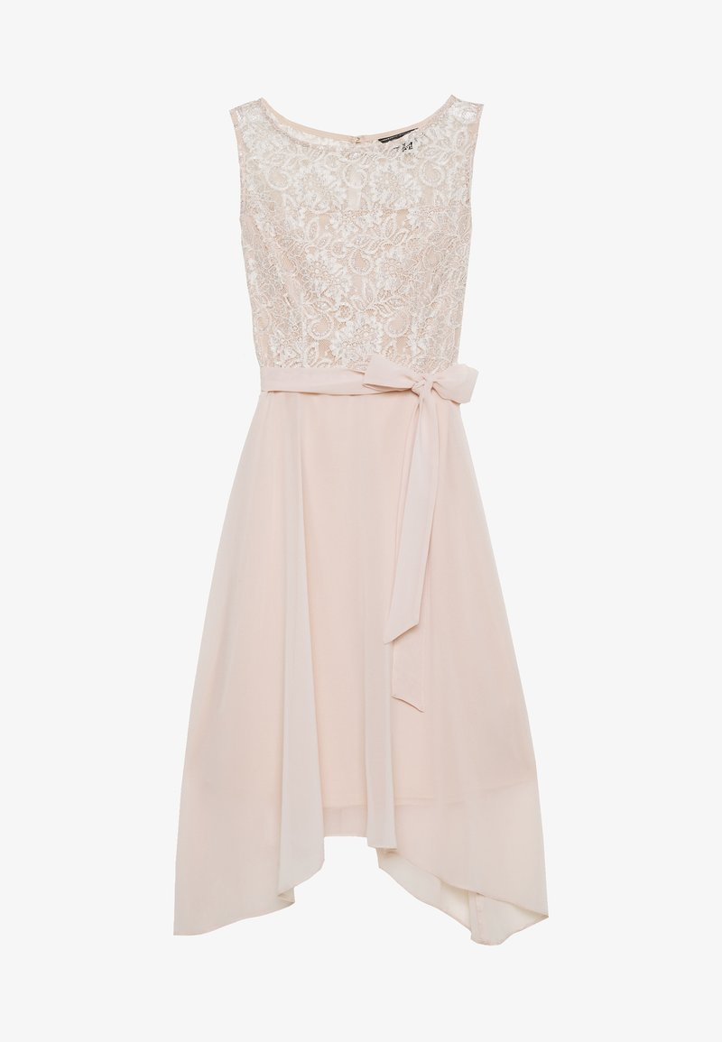 Dorothy Perkins - BILLIE LABEL HIGH LOW MIDI DRESS - Juhlamekko - blush