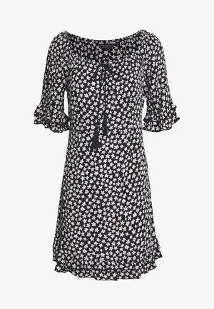DITSY GYPSY CRINKLE DRESS - Freizeitkleid - black