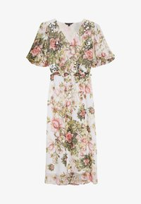 Dorothy Perkins - FLORAL PRINT SEQUIN MIDAXI DRESS - Day dress - blush - 2
