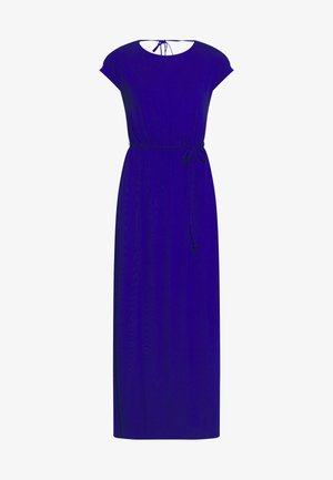 COBALT PLAIN ROLL SLEEVE - Maxi dress - cobalt