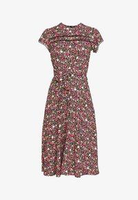 Dorothy Perkins - BILLIE AND BLOSSOM TRIMP DITSY MIDI DRESS - Day dress - pink - 3