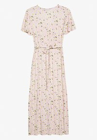Dorothy Perkins - DAISY BUTTON THROUGH SLEEVE MIDI DRESS - Jerseykjole - pink - 1