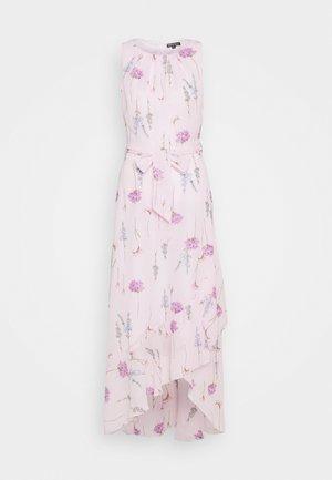 BILLIE LABEL STEM FLORAL SLEEVLESS RUFFLE - Sukienka letnia - lilac