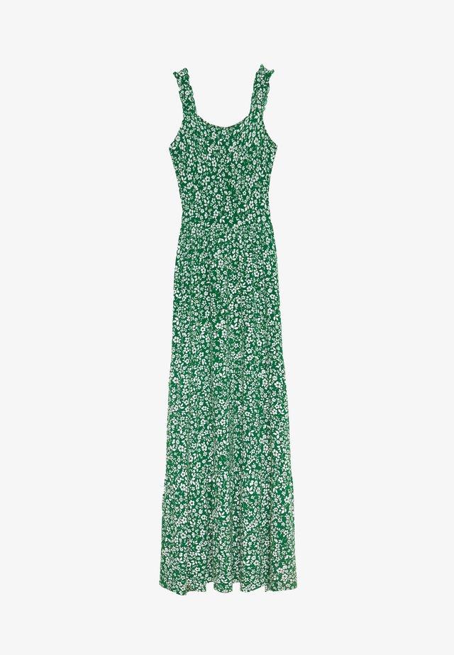 DITSY RUFFLE STRAP MAXI DRESS - Vestido informal - green