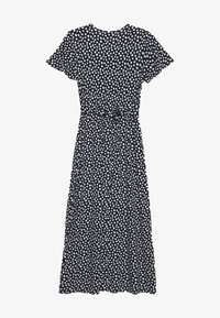 Dorothy Perkins - BUTTON THROUGH MIDI DRESS - Trikoomekko - navy - 1
