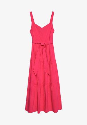 POPLIN TIERED DRESS - Hverdagskjoler - pink