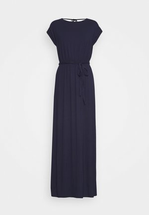 ROLL SLEEVE DRESS - Maxikjole - navy