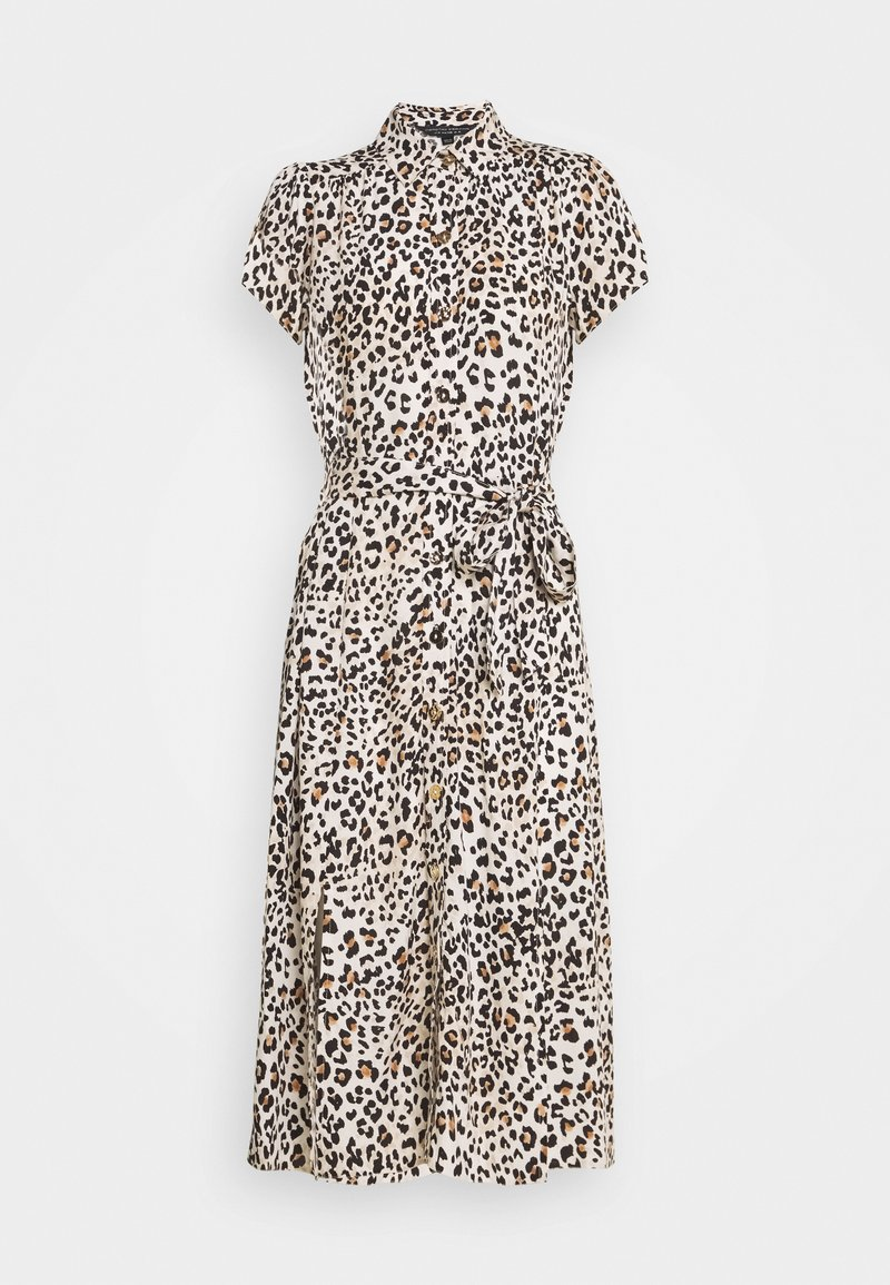 Dorothy Perkins - NEUTRAL ANIMAL SHORT SLEEVE - Sukienka koszulowa - multi